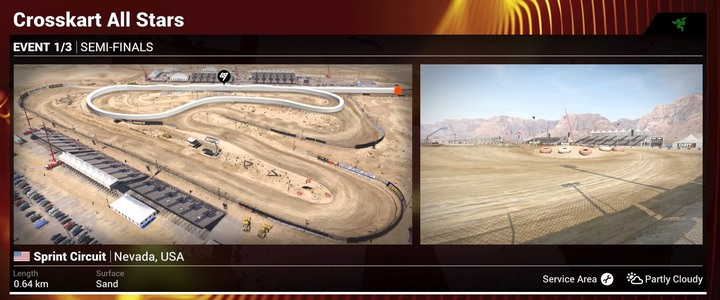 Races take place over sand-covered, simple circuits. - Hints on race modes | Tips - Tips - DiRT 4 Game Guide