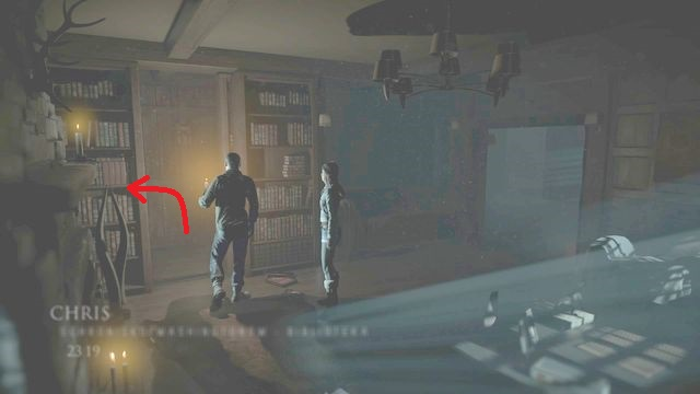 While following the storyline, when you reach the library, you find a secret room behind the bookshelf - Episode 3 | Clues and totems - locations - Clues and totems - locations - Until Dawn Game Guide & Walkthrough