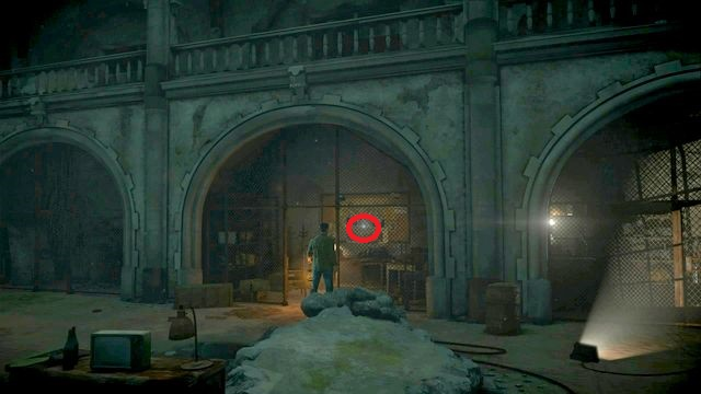 the map is also in the chapel, to the right of the exit to the corridor (the steel gate on the right) - Episode 5 | Clues and totems - locations - Clues and totems - locations - Until Dawn Game Guide & Walkthrough