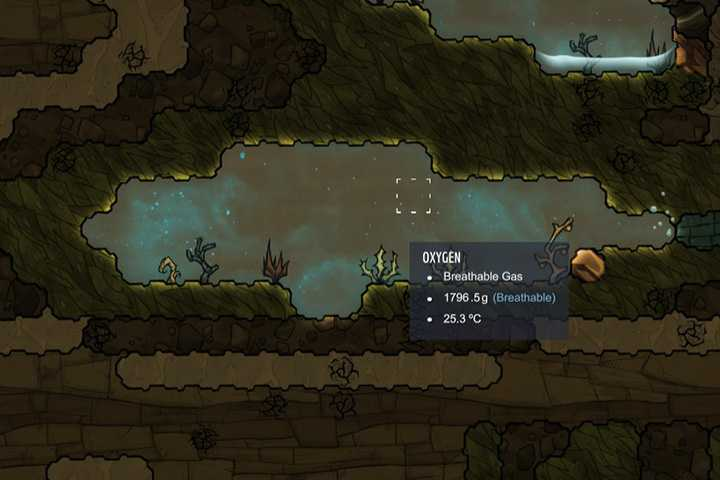 Oxygen - Gases | Resources - Resources - Oxygen Not Included Game Guide
