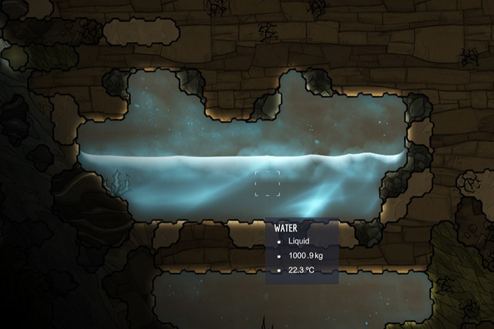 Water - Liquids | Resources - Resources - Oxygen Not Included Game Guide