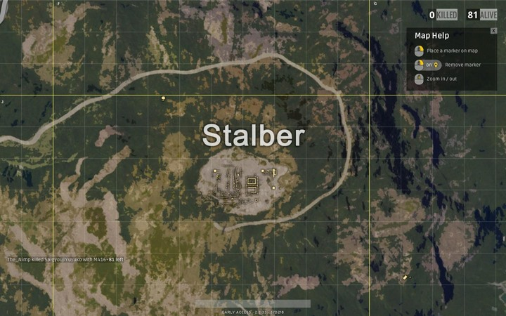 This isolated location is far away from all other settlements - its in the north-west part of the area and can be a very good destination for everyone who wants to survive the first stage of fights - Maps in Playerunknowns Battlegrounds - Game Guide - Playerunknowns Battlegrounds Game Guide