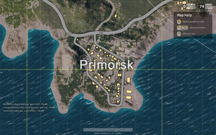 This place is located in a secluded area by the coast, and its definitely worth your time - here, you will come across many items and weapons - Maps in Playerunknowns Battlegrounds - Game Guide - Playerunknowns Battlegrounds Game Guide