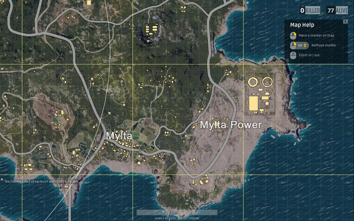 Mylta does not have much to offer - Maps in Playerunknowns Battlegrounds - Game Guide - Playerunknowns Battlegrounds Game Guide