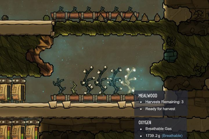 A large farm is the groundwork for your survival. - How to start? - The Beginning - Oxygen Not Included Game Guide