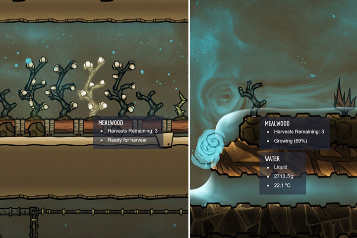 Mealwood - Harvestable - Plants - Oxygen Not Included Game Guide