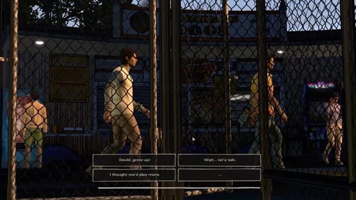 The practice left David quite irritated - Chapter 1 - Faces in the Crowd | Episode 4 - Episode 4: Thicker than Water - The Walking Dead: The Telltale Series - A New Frontier Game Guide