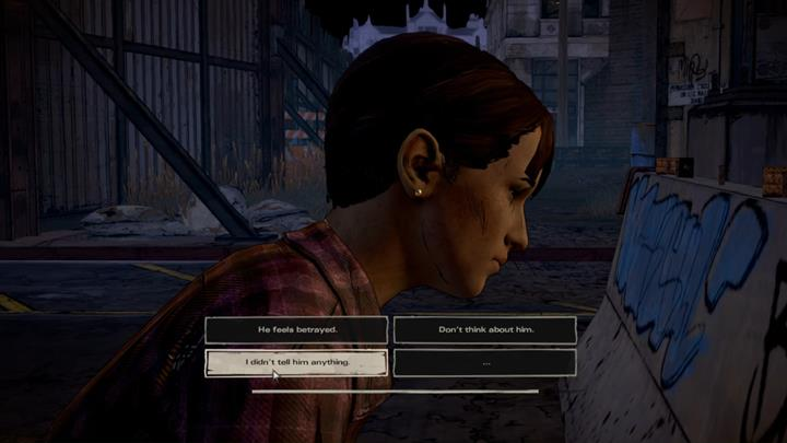 Kate and Javier are in progress of getting out of the restricted zone - Chapter 2 - Across the Water | Episode 4 - Episode 4: Thicker than Water - The Walking Dead: The Telltale Series - A New Frontier Game Guide