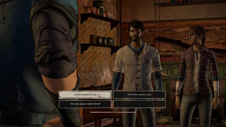 The group will be joined by Tripp - Chapter 2 - Across the Water | Episode 4 - Episode 4: Thicker than Water - The Walking Dead: The Telltale Series - A New Frontier Game Guide
