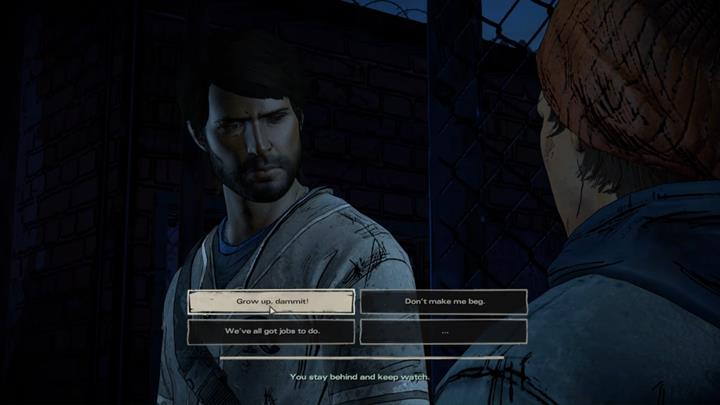 Youll leave the building after the argument and begin the search for a truck - Chapter 5 - Smoke and Fire | Episode 4 - Episode 4: Thicker than Water - The Walking Dead: The Telltale Series - A New Frontier Game Guide