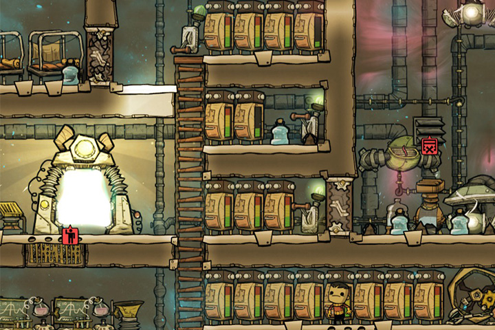 Storage space - Important Rooms | Which rooms should I build? - Base Layout - Oxygen Not Included Game Guide