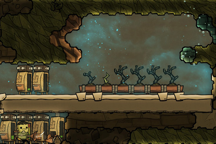 Growing plants - Important Rooms | Which rooms should I build? - Base Layout - Oxygen Not Included Game Guide