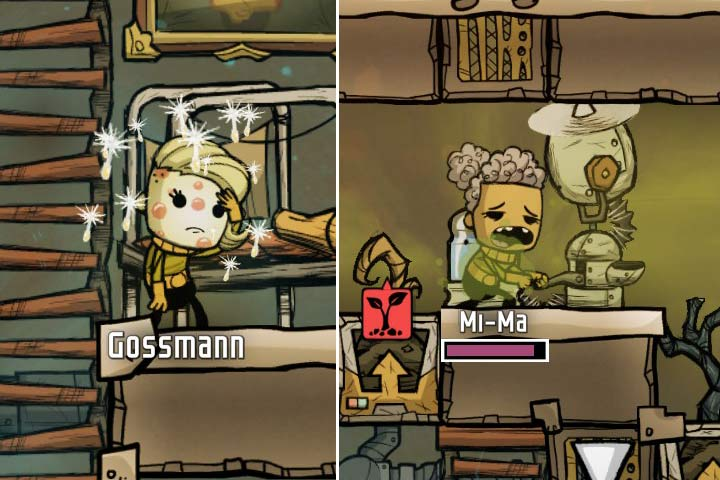 Bad living conditions and poor food will contribute to outbursts of diseases. - Diseases and temperature - The Beginning - Oxygen Not Included Game Guide