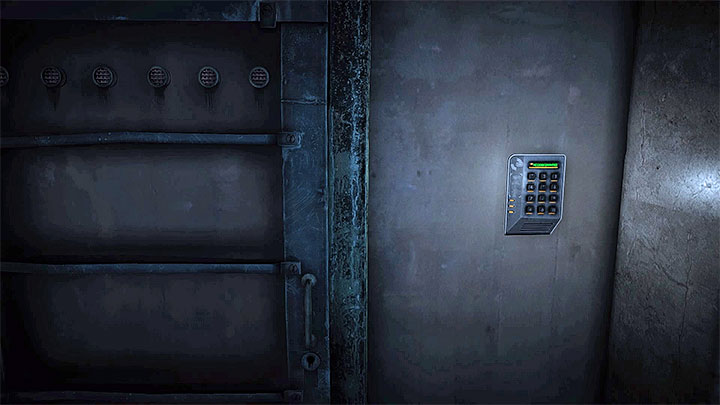 The keypad to enter the code - The Grace_Kidnapping files | Red | Walkthrough - Red - Get Even Game Guide