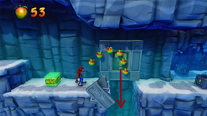 Continue moving right - Snow Go | Crash Bandicoot 2 | Levels - Crash Bandicoot 2 - Jungle Warp Room - Crash Bandicoot N. Sane Trilogy Game Guide