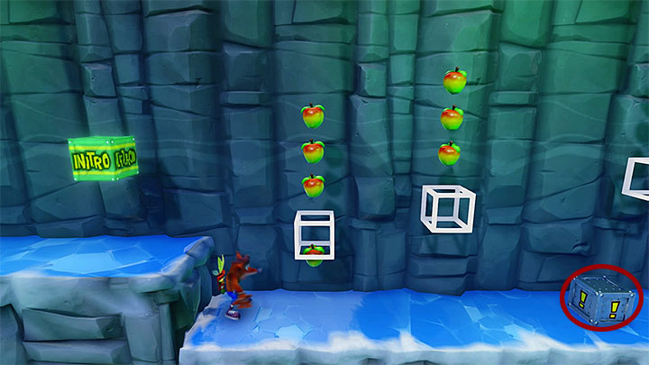 The hidden area is much harder than what you are accustomed to - Snow Go | Crash Bandicoot 2 | Levels - Crash Bandicoot 2 - Jungle Warp Room - Crash Bandicoot N. Sane Trilogy Game Guide