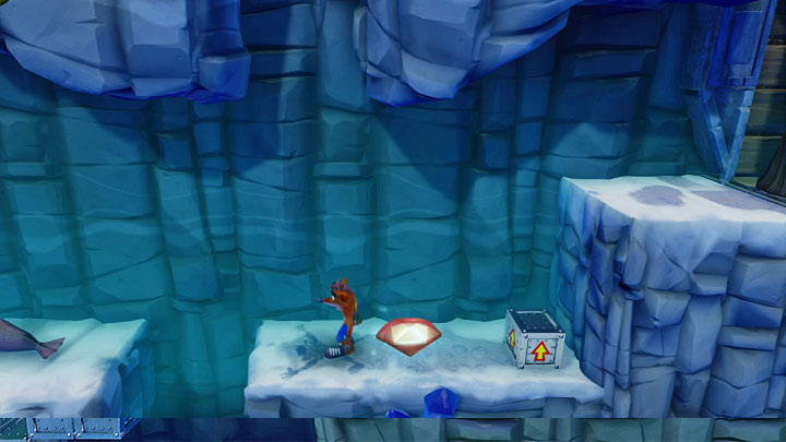 Youre almost at the end of the stage - Snow Go | Crash Bandicoot 2 | Levels - Crash Bandicoot 2 - Jungle Warp Room - Crash Bandicoot N. Sane Trilogy Game Guide