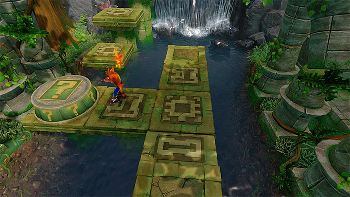 If youve managed to reach the next part of the level, activate the checkpoint and continue moving forward - Hang Eight | Crash Bandicoot 2 | Levels - Crash Bandicoot 2 - Jungle Warp Room - Crash Bandicoot N. Sane Trilogy Game Guide