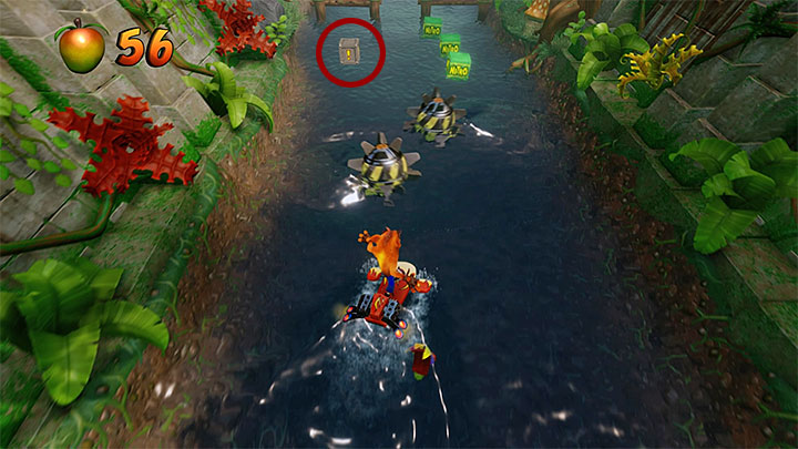 Finish the bonus section and continue moving forward - Hang Eight | Crash Bandicoot 2 | Levels - Crash Bandicoot 2 - Jungle Warp Room - Crash Bandicoot N. Sane Trilogy Game Guide
