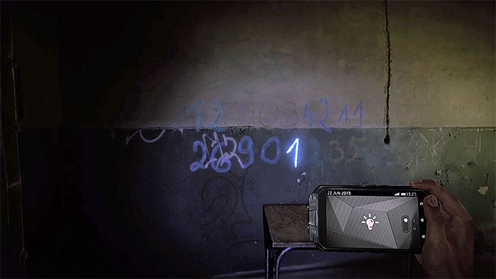 The first digit - How to deal with the electronic door in the asylum (Black)? - Solving the puzzles - Get Even Game Guide