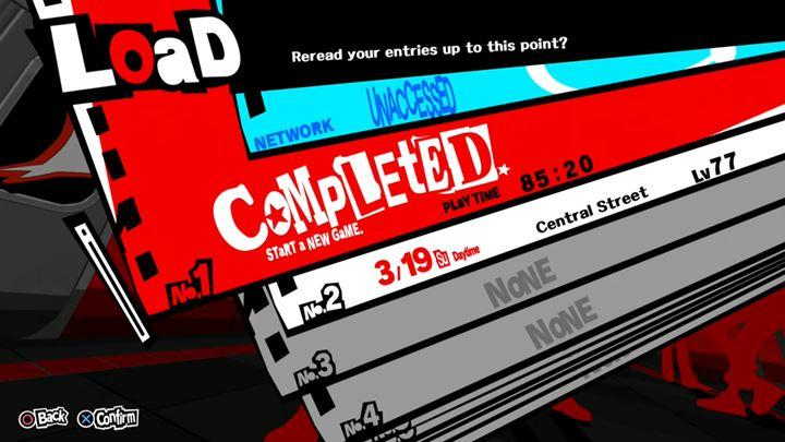 When youve completed the game, you can start playing on New Game+ slot - New Game + mode in Persona 5 - FAQ - Persona 5 Game Guide