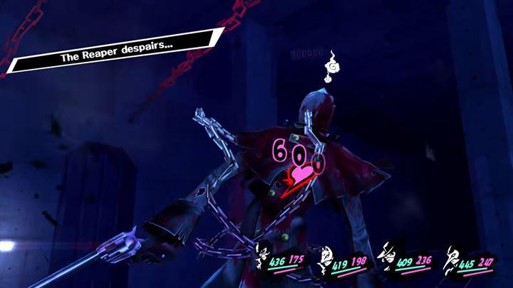 Run away from the Reaper until he starts to despair - Fast leveling techniques in Persona 5 - FAQ - Persona 5 Game Guide