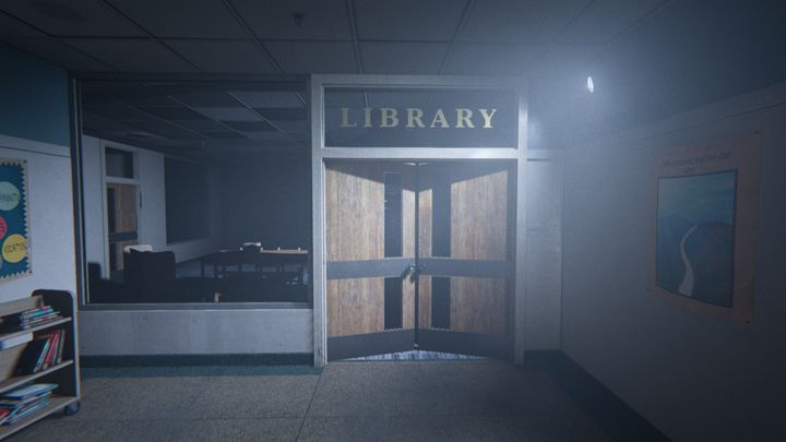 Youll be led to a library that youve had the opportunity to visit earlier - The Library | Judges | Walkthrough - Judges - Outlast 2 Game Guide