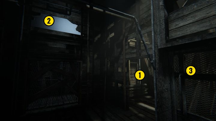 Once youve picked up the note, turn right - Blake Against the Machine | Judges | Walkthrough - Judges - Outlast 2 Game Guide