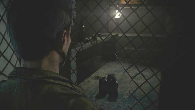 Nearby the net you may find the jacket and the revolver which are required to move forward - Episode 5 | Walkthrough - Walkthrough - Until Dawn Game Guide & Walkthrough
