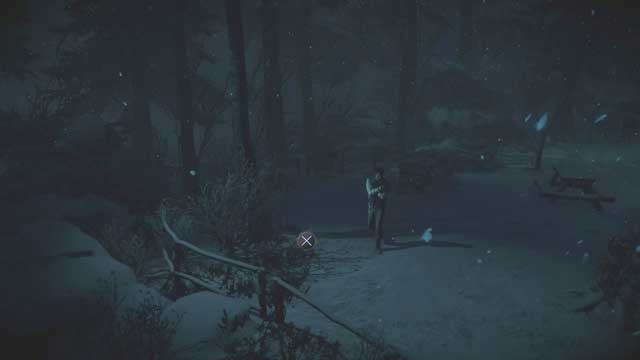 Death Totem #2 is hidden nearby the bushes - Episode 5 | Walkthrough - Walkthrough - Until Dawn Game Guide & Walkthrough