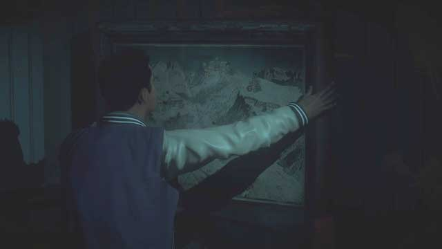 It is essential to take and analyze the map of the area - Episode 5 | Walkthrough - Walkthrough - Until Dawn Game Guide & Walkthrough
