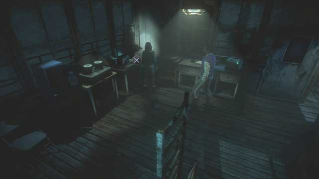 Use the radio inside the tower after restoring the power - Episode 6 | Walkthrough - Walkthrough - Until Dawn Game Guide & Walkthrough