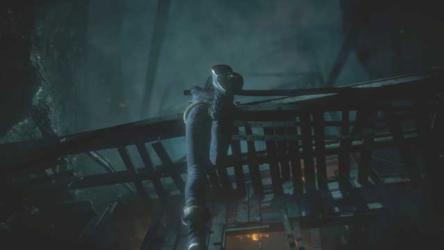 Try to save Emily when she hangs out of the structure - Episode 6 | Walkthrough - Walkthrough - Until Dawn Game Guide & Walkthrough