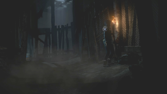 Pass the gate where you will find a lot of clues in one area - Episode 7 | Walkthrough - Walkthrough - Until Dawn Game Guide & Walkthrough