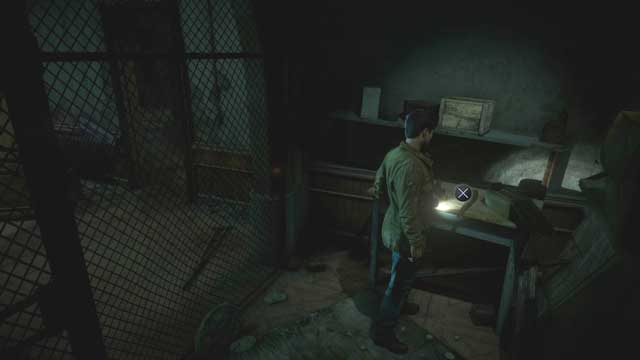 Take the shotgun on the right to continue - Episode 9 | Walkthrough - Walkthrough - Until Dawn Game Guide & Walkthrough