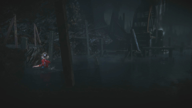 You can get out of the water to the left of the mill - Episode 10 | Walkthrough - Walkthrough - Until Dawn Game Guide & Walkthrough