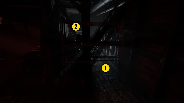 Once youve read the note, return to the area which can be seen on the screenshot above - The Ascension | Judges | Walkthrough - Judges - Outlast 2 Game Guide