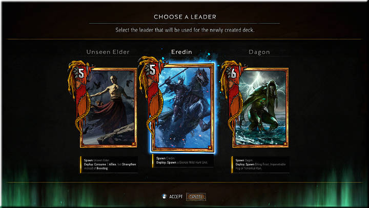 1 - Monsters | Factions - Factions - Gwent: The Witcher Card Game Guide
