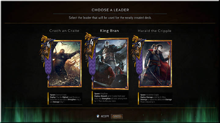 1 - Skellige | Factions - Factions - Gwent: The Witcher Card Game Guide