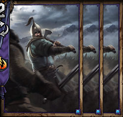 Clan Tuirseach Axeman x3 - Skellige | Premade decks - Premade decks - Gwent: The Witcher Card Game Guide