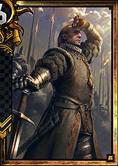 Morvran Voorhis - Nilfgaard | Premade decks - Premade decks - Gwent: The Witcher Card Game Guide