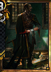 Vattier De Rideaux - Nilfgaard | Premade decks - Premade decks - Gwent: The Witcher Card Game Guide