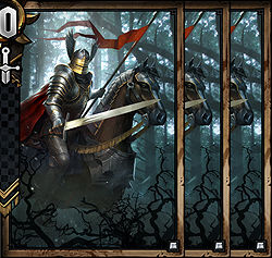 Nilfgaardian Knight x3 - Nilfgaard | Premade decks - Premade decks - Gwent: The Witcher Card Game Guide