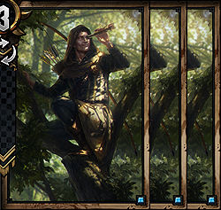 Spotter x3 - Nilfgaard | Premade decks - Premade decks - Gwent: The Witcher Card Game Guide
