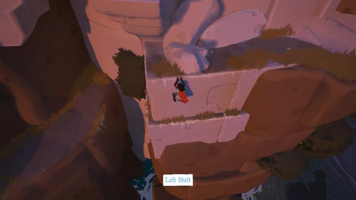 First, take the passage on the left and climb up the stairs - Coliseum and the first key | Chapter 1 - Walkthrough - Chapter 1 - Rime Game Guide