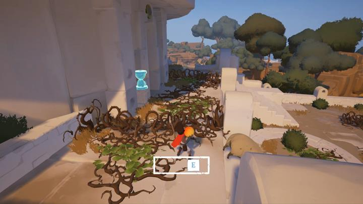 Use the fruit to make way for yourself. - Obtain the second key | Chapter 1 - Walkthrough - Chapter 1 - Rime Game Guide