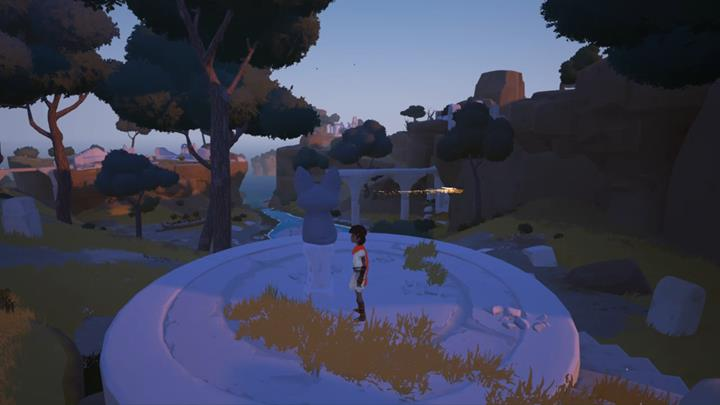Here are you will find the first figurine to activate - Activation of the four figurines | Chapter 1 - Walkthrough - Chapter 1 - Rime Game Guide