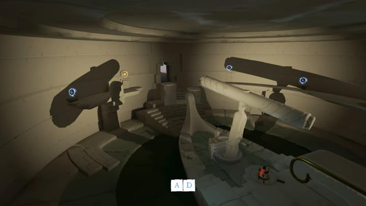 Thanks to this positioning you will be able to get out of the room . - The third mill | Chapter 2 - Walkthrough - Chapter 2 - Rime Game Guide