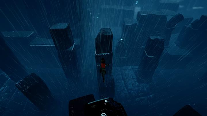 Reach the tallest column by climbing on the toppled ones - Activating four figurines | Chapter 4 - Walkthrough - Chapter 4 - Rime Game Guide