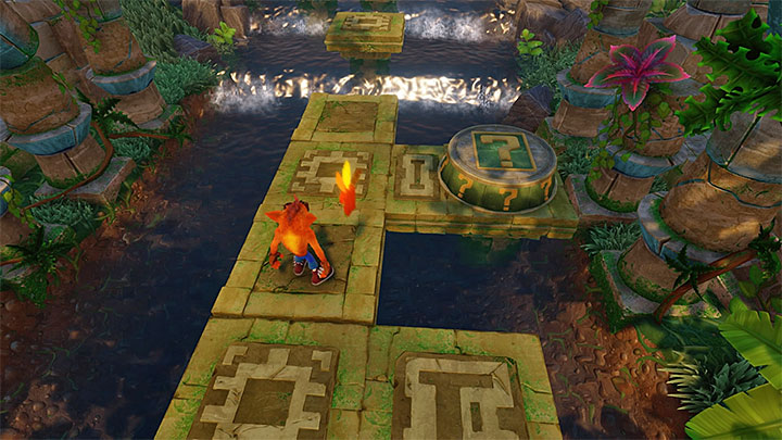 Start this stage once again and this time around, after you reach the first checkpoint, use the jetboard - Air Crash | Crash Bandicoot 2 | Levels - Crash Bandicoot 2 - Ice Warp Room - Crash Bandicoot N. Sane Trilogy Game Guide